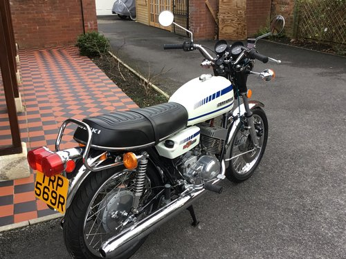 1977 SUZUKI GT250C THE RAREST, CONCOURS For Sale (picture 5 of 5)