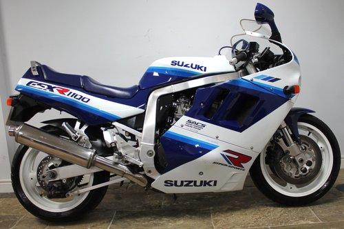 1990 Suzuki GSXR 1100 L DOHC 25,873 miles SUPERB  SOLD (picture 1 of 6)