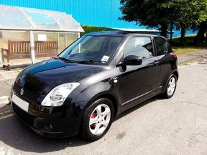 2006 SUZUKI SWIFT 1.5 GLX 3 DOOR WITH ONLY 75K