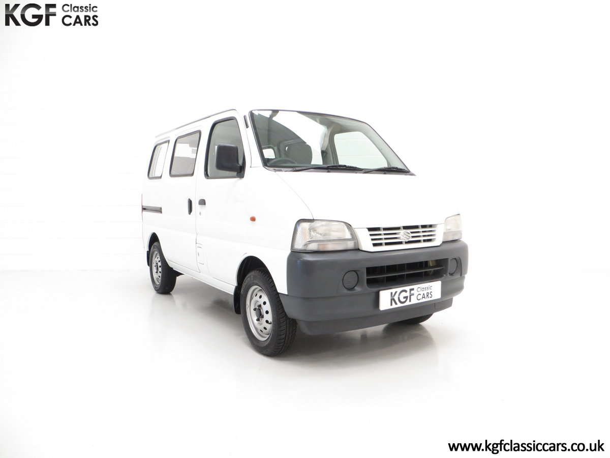 2002 A One Owner Suzuki Carry 8-seater Minibus with 35,894 Miles SOLD (picture 1 of 6)