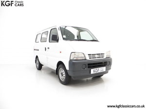 2002 A One Owner Suzuki Carry 8-seater Minibus with 35,894 Miles SOLD