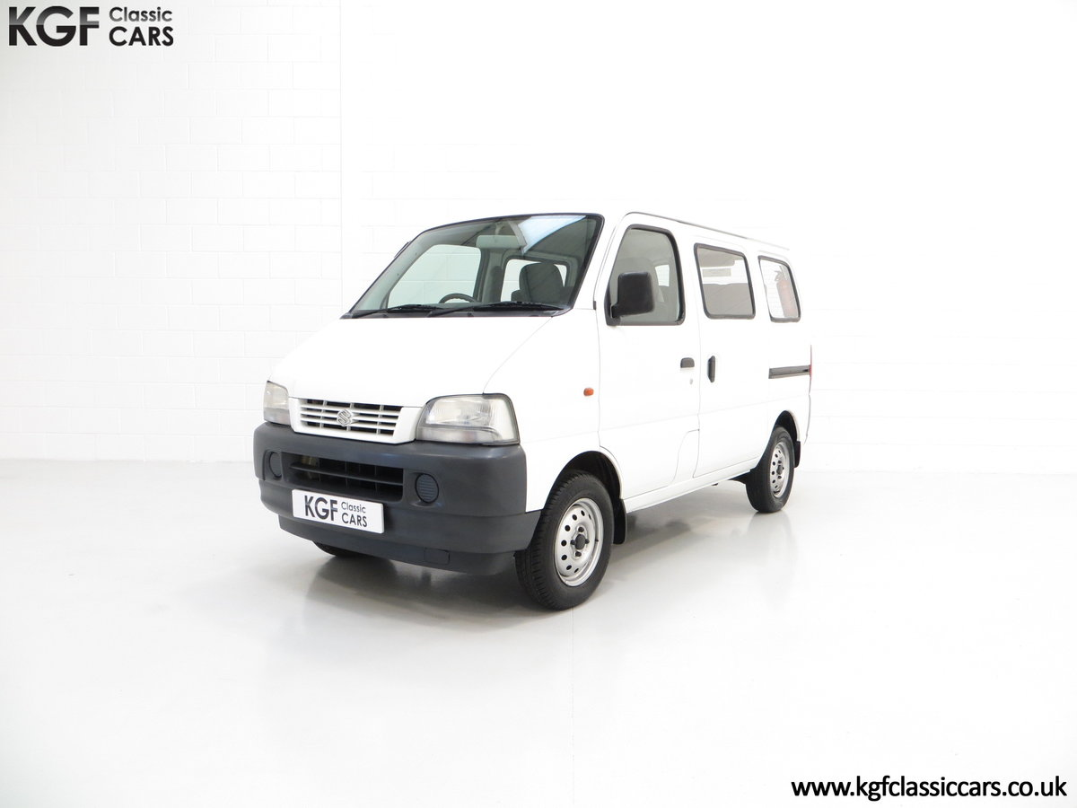 2002 A One Owner Suzuki Carry 8-seater Minibus with 35,894 Miles SOLD (picture 2 of 6)