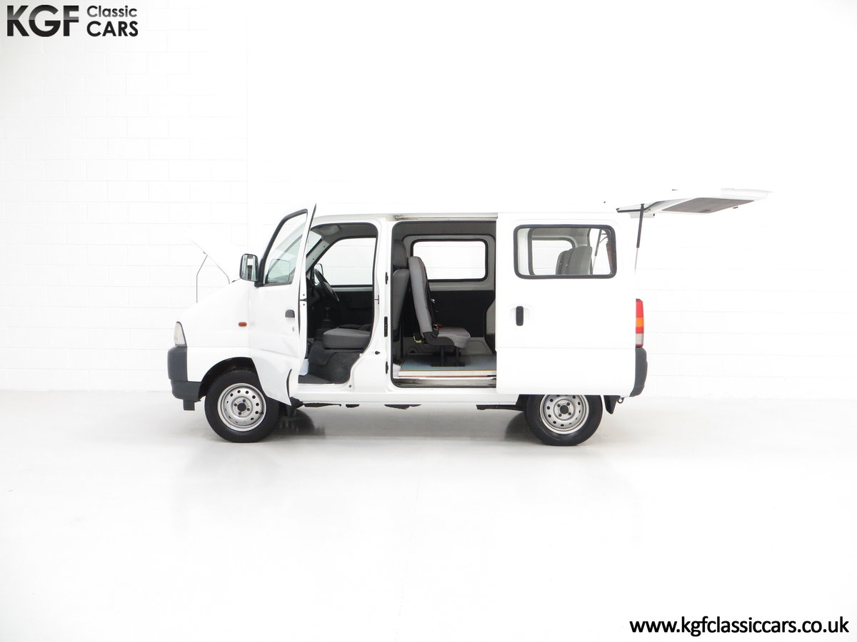 2002 A One Owner Suzuki Carry 8-seater Minibus with 35,894 Miles SOLD (picture 3 of 6)