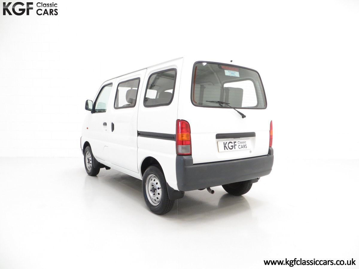 2002 A One Owner Suzuki Carry 8-seater Minibus with 35,894 Miles SOLD (picture 4 of 6)