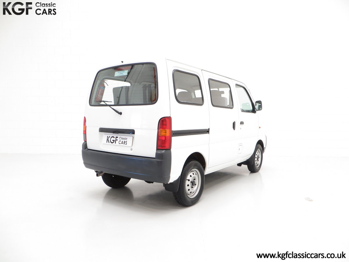 2002 A One Owner Suzuki Carry 8-seater Minibus with 35,894 Miles SOLD (picture 5 of 6)