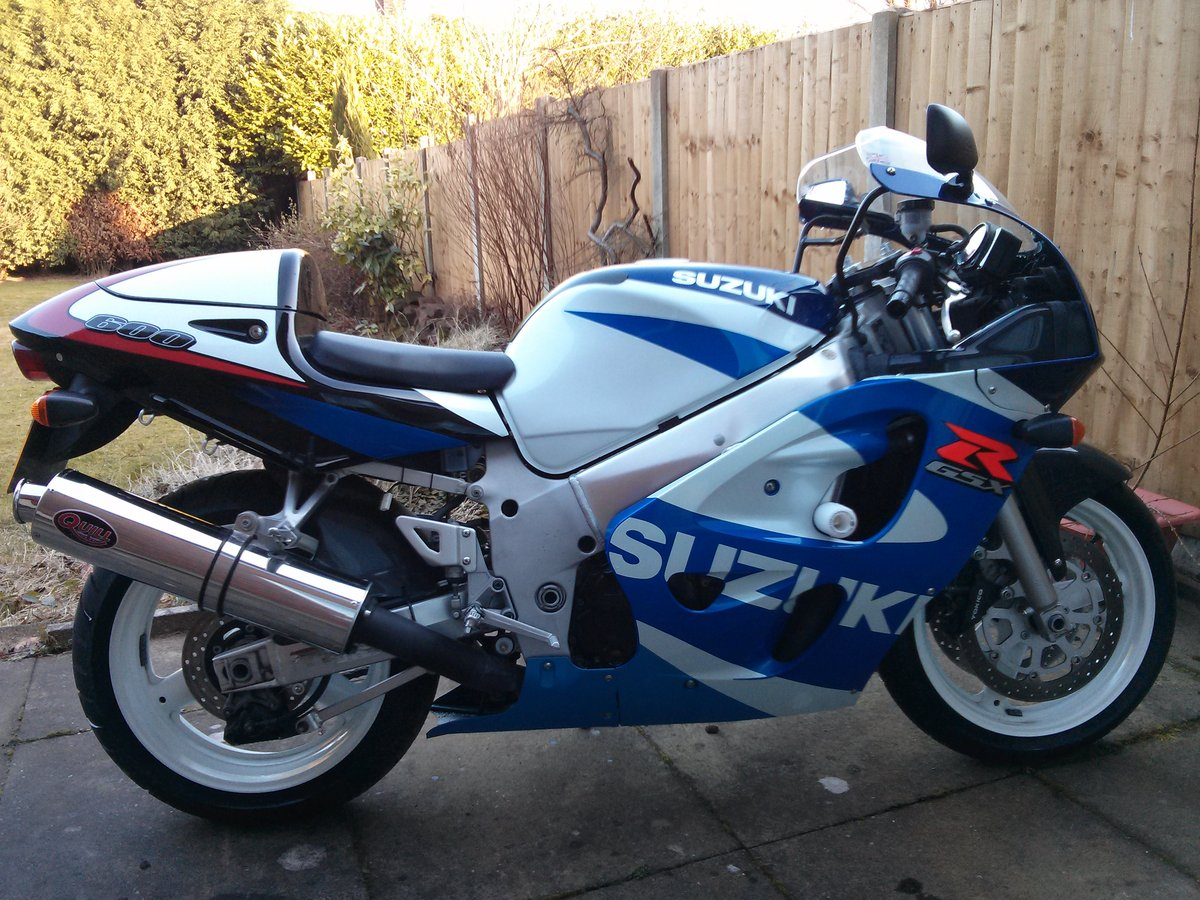2000 Stunning original GSXR600 'Y'  soon to be classic For Sale (picture 1 of 1)