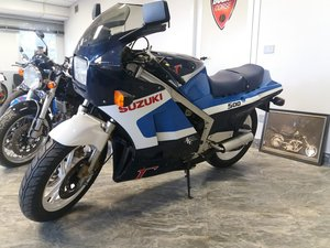 1985 Suzuki Gamma RG five hundred