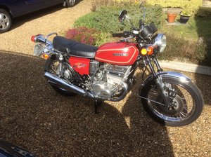 Suzuki GT550A 1976 in Candy Rose Red in VGC For Sale