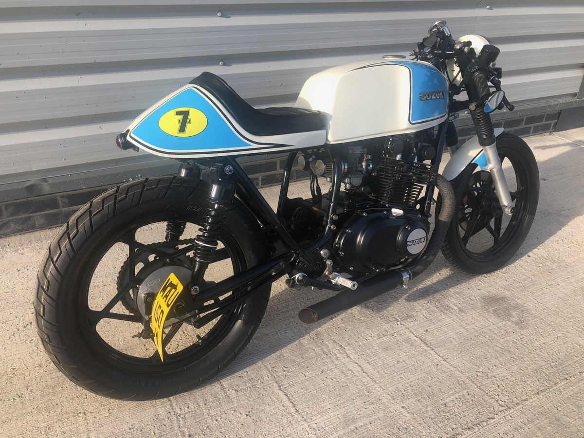 1980 Suzuki GS450 Cafe Racer For Sale (picture 3 of 6)