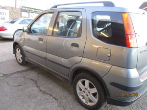 2005 FULL TIME 4X4 SUZUKI IGNIS 1500cc PETROL SUV VERY SMART