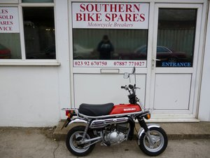 1979 Suzuki PV50 50cc 2-Stroke Classic Mini Bike Monkey Bike For Sale