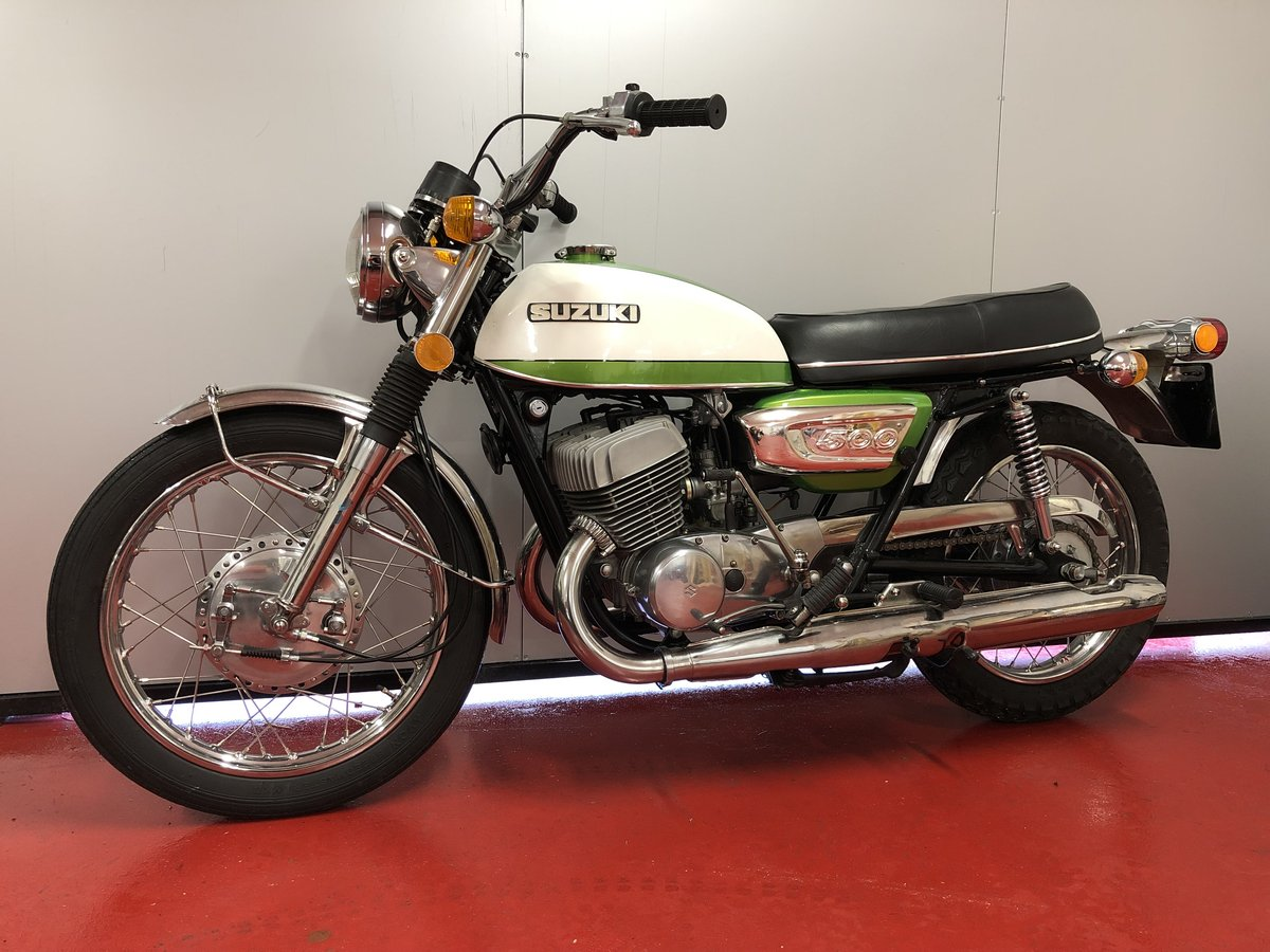 1972 SUZUKI GT T 500 LOVLEY PROPER MINT BIKE! £8295 OFFERS PX For Sale (picture 3 of 6)
