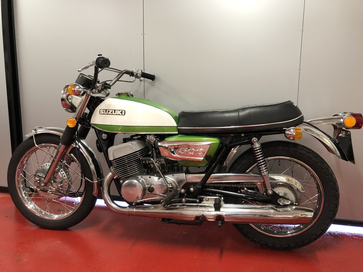 1972 SUZUKI GT T 500 LOVLEY PROPER MINT BIKE! £8295 OFFERS PX For Sale (picture 4 of 6)
