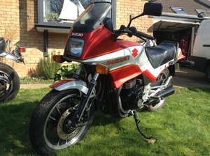1984 Suzuki GSX550 ES. 1 Mile from new. New 1st MoT'.