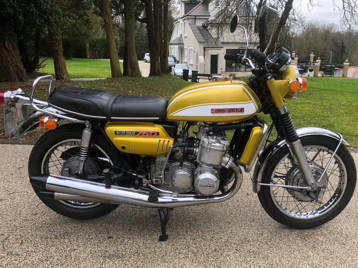 GT750J 1972  SOLD (picture 1 of 6)