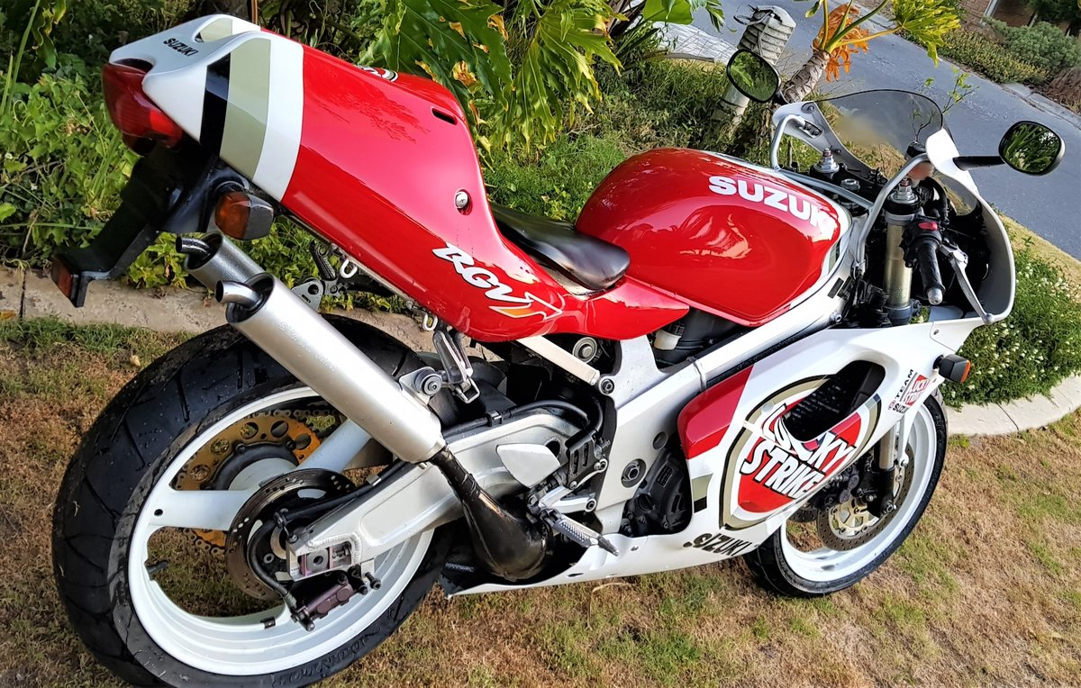 1996 LUCKY STRIKE! SUZUKI RGV250SP VJ23. FULL POWER! For Sale (picture 5 of 6)