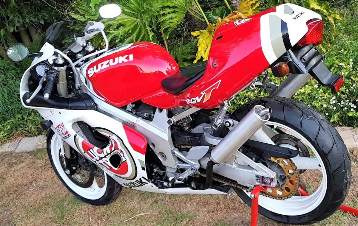 1996 LUCKY STRIKE! SUZUKI RGV250SP VJ23. FULL POWER! For Sale (picture 6 of 6)