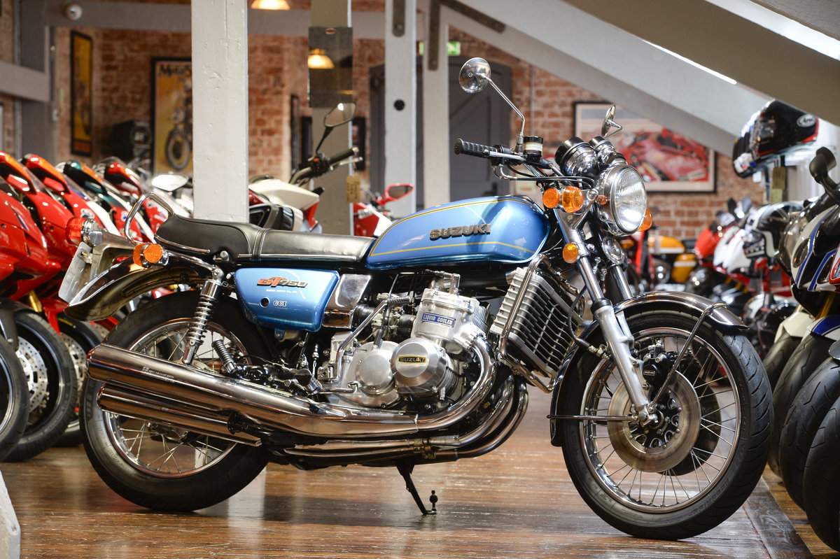 1975 Suzuki GT750A Superb Example For Sale (picture 1 of 6)