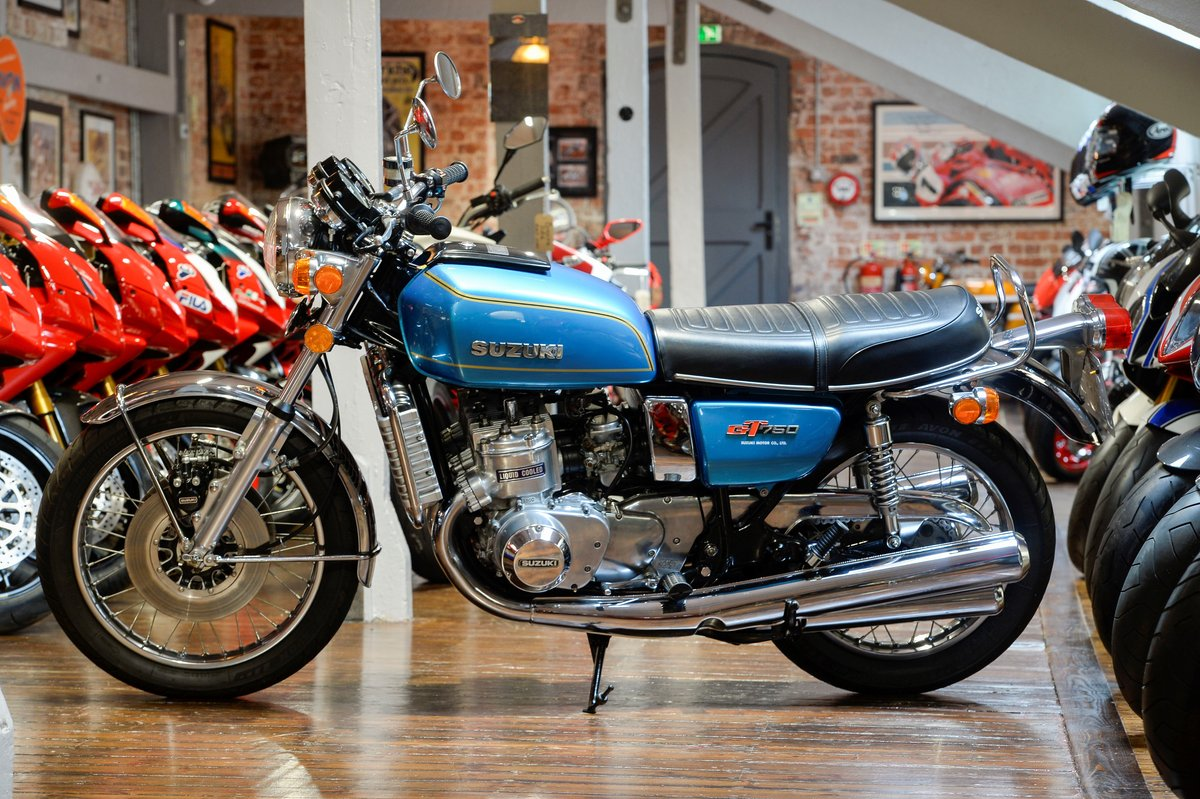 1975 Suzuki GT750A Superb Example For Sale (picture 6 of 6)