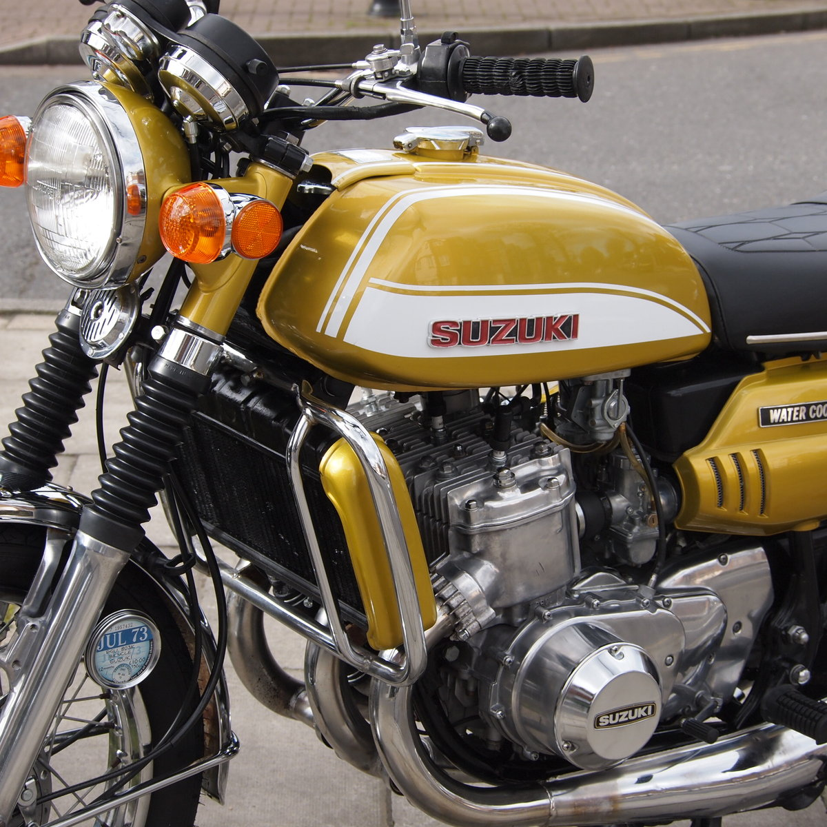 1972 GT750J Early Drum Brake Model, Tidy Bike. For Sale (picture 1 of 6)