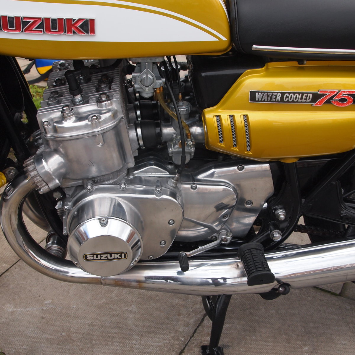 1972 GT750J Early Drum Brake Model, Tidy Bike. For Sale (picture 2 of 6)