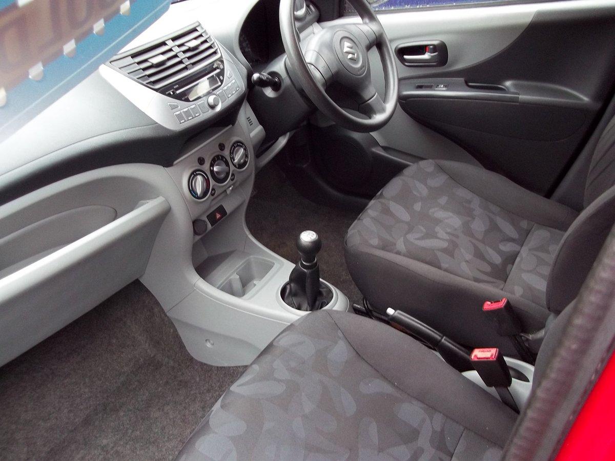 2009 Suzuki Alto SZ4 1.0 For Sale (picture 2 of 4)