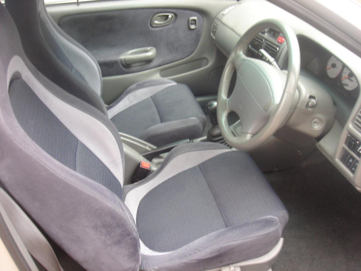 2000 X SUZUKI BALENO 1.8 GSR DOHC 3DR 65263 MILES. For Sale (picture 2 of 6)