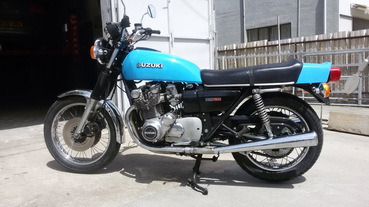 1977 Suzuki GS750 Genuine, all original runs great For Sale