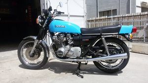 1977  Suzuki GS750 Genuine, all original runs great