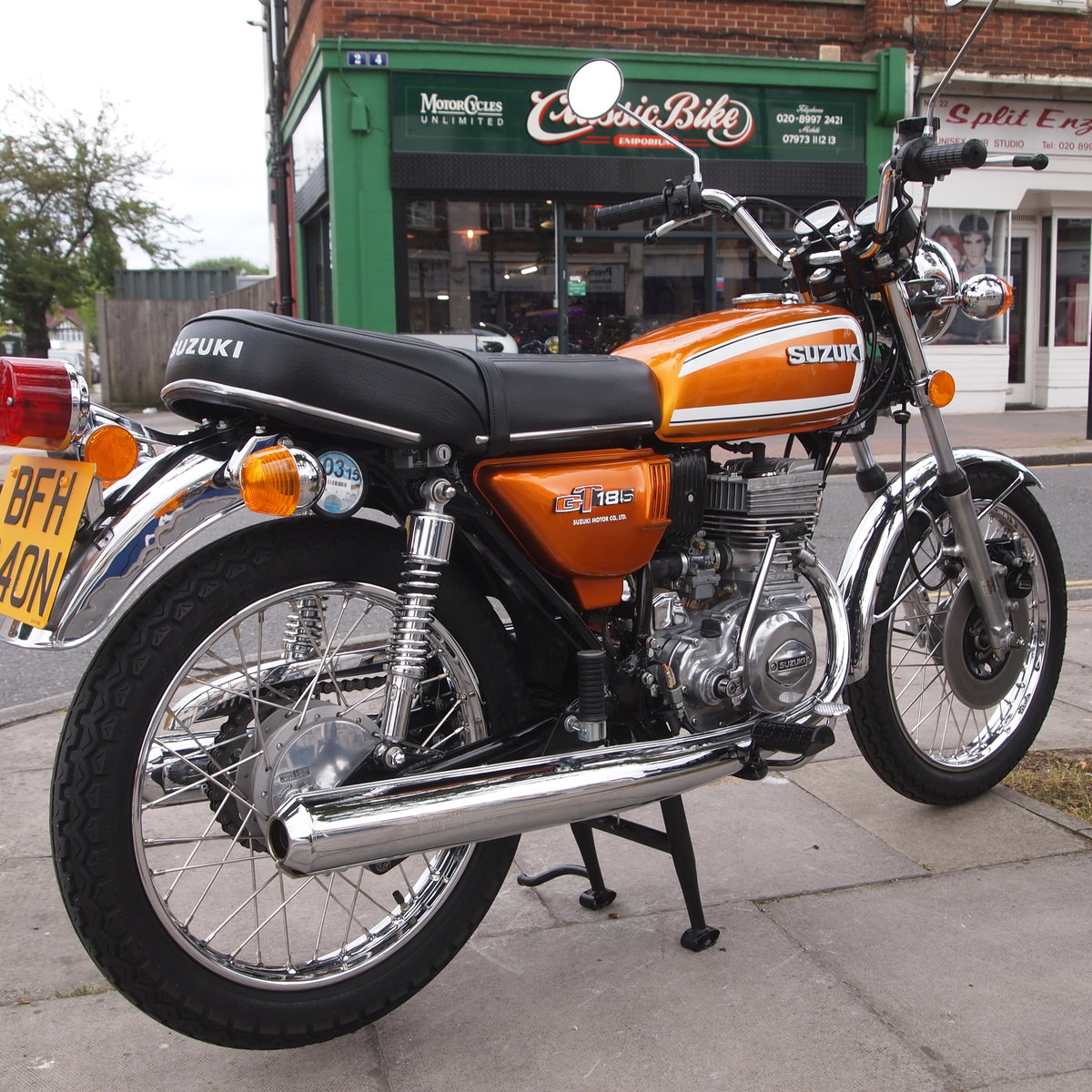 1974 GT185 Twostroke, UK Bike, Probably Best You Will See. For Sale (picture 1 of 6)