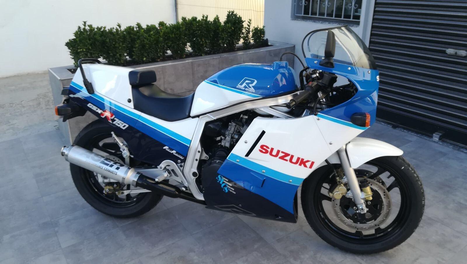 1987 Suzuki GSXR 750 - original 22,000miles -Collectors For Sale (picture 1 of 4)