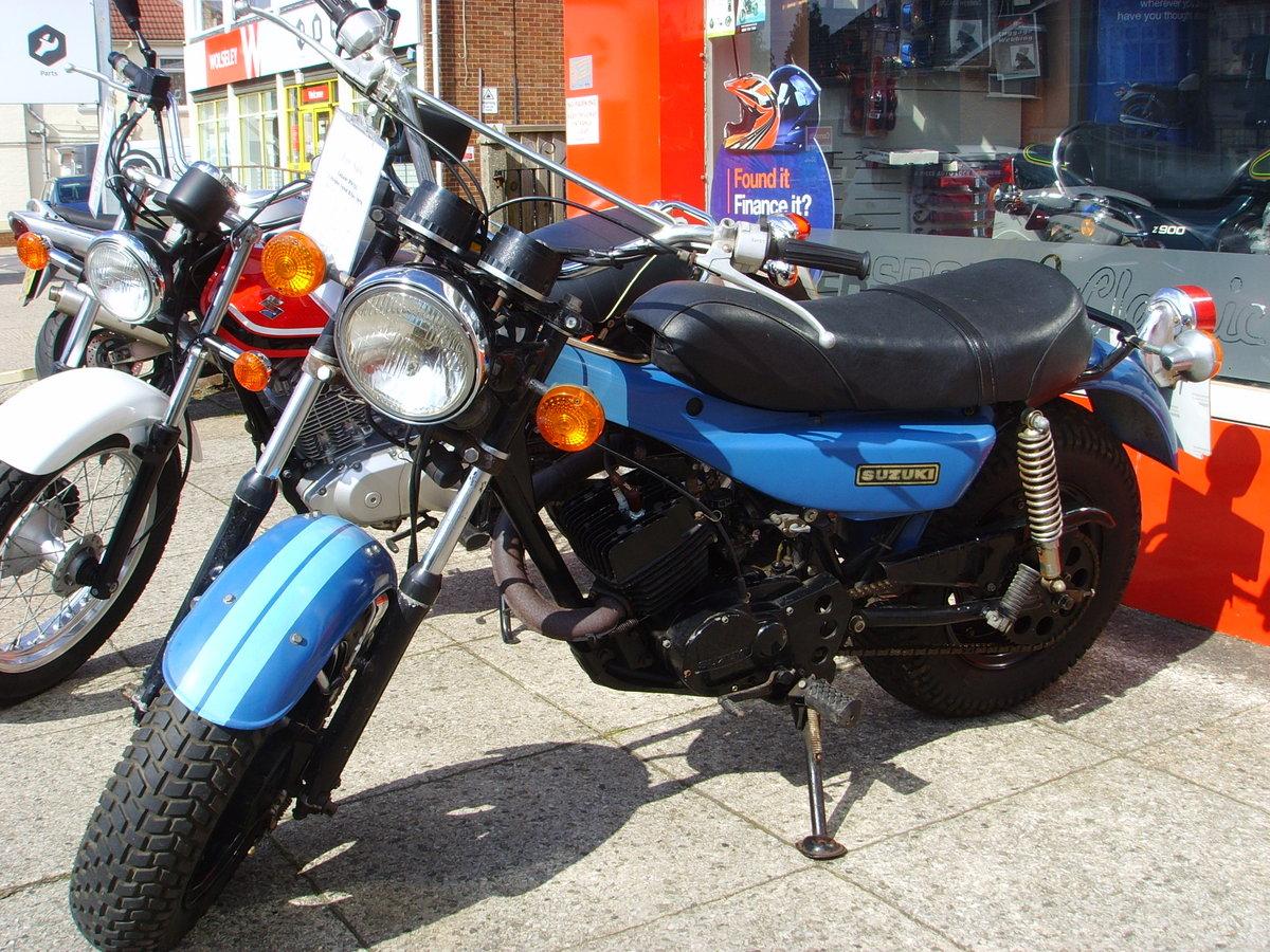 Suzuki RV125 2 Stroke Sand Bike 1978 For Sale (picture 1 of 6)