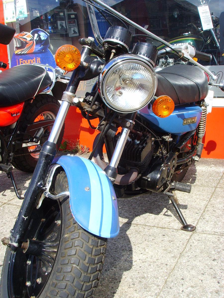 Suzuki RV125 2 Stroke Sand Bike 1978 For Sale (picture 4 of 6)