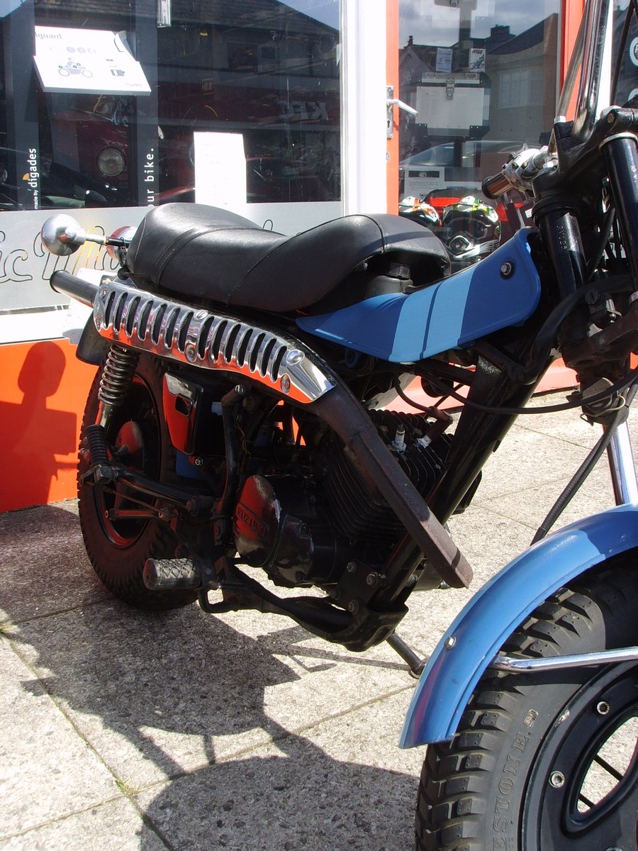 Suzuki RV125 2 Stroke Sand Bike 1978 For Sale (picture 5 of 6)