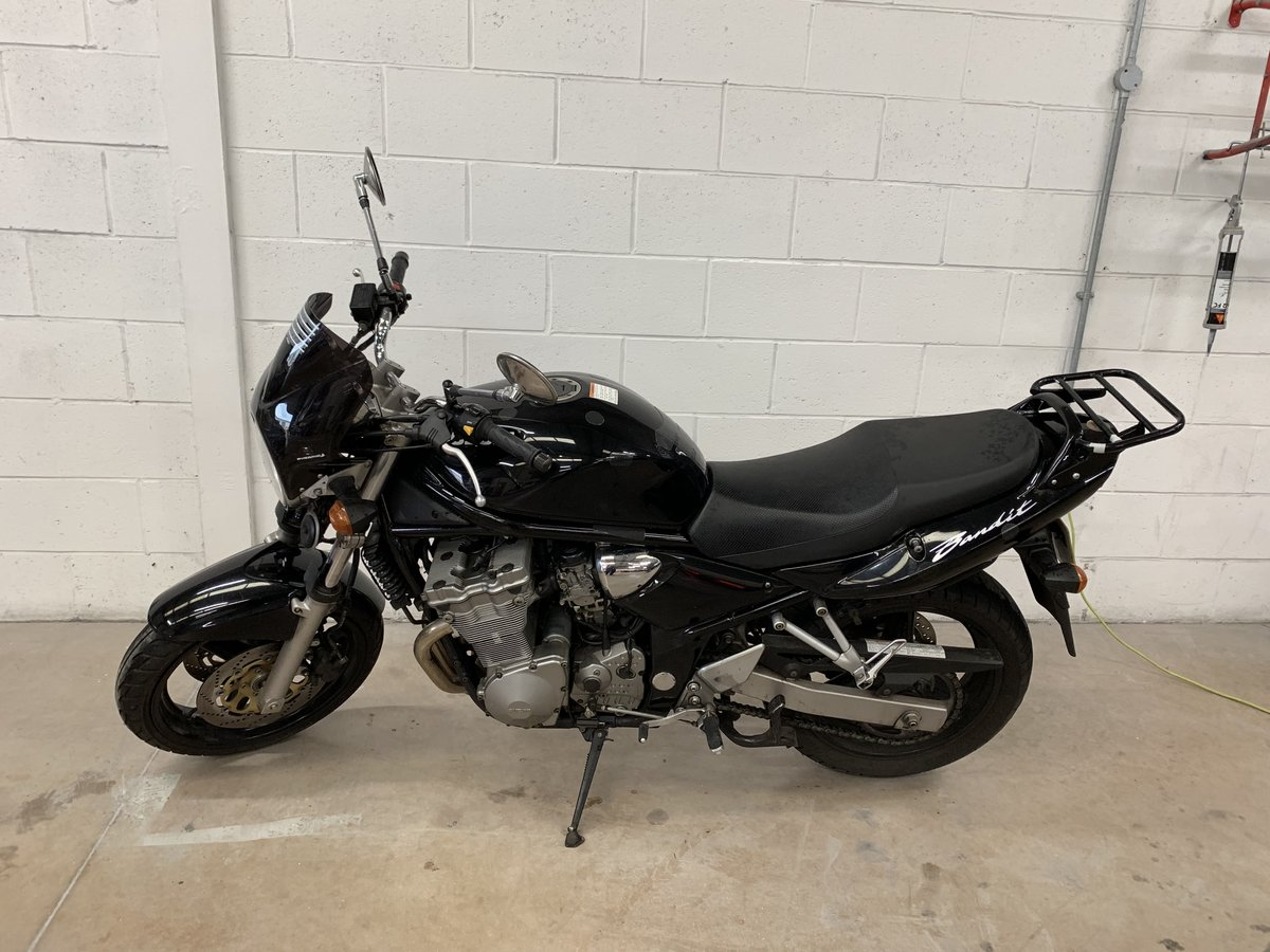 2004 SUZUKI BANDIT GSF K4 13800 Miles For Sale (picture 1 of 6)