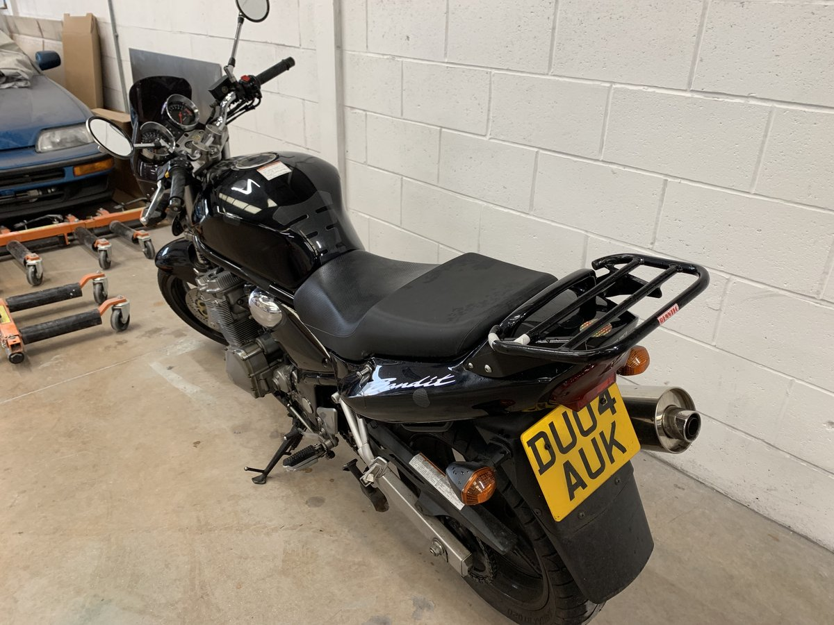 2004 SUZUKI BANDIT GSF K4 13800 Miles For Sale (picture 2 of 6)