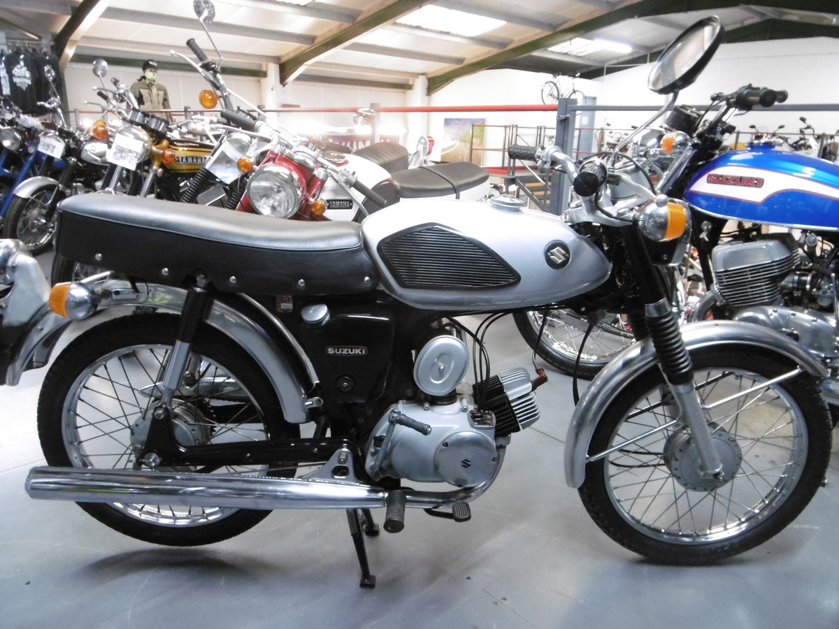 1970 Suzuki AS50 . Stunning original Moped  Rare  SOLD (picture 1 of 6)