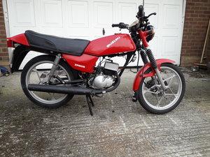 1987 Suzuki zr50 - engine rebuilt - mot march 2020