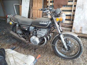 1976 Suzuki GT550 For Sale by Auction