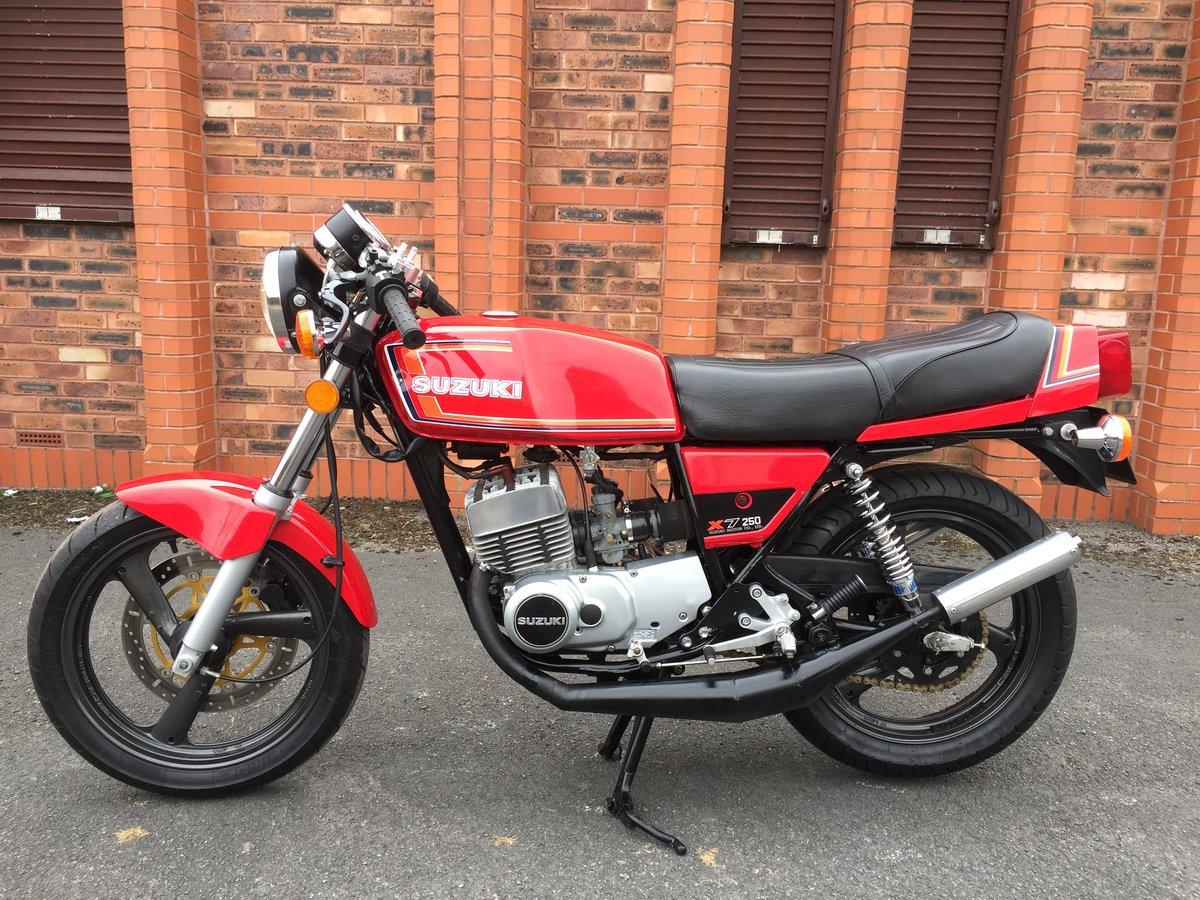 1978 Suzuki GT250X7 Motorccycle SOLD (picture 2 of 5)