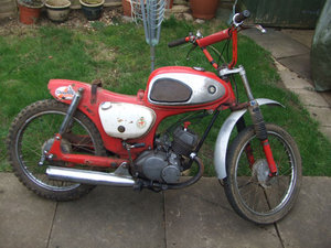 1965 1966 Suzuki K10 (80cc) for spares or repair