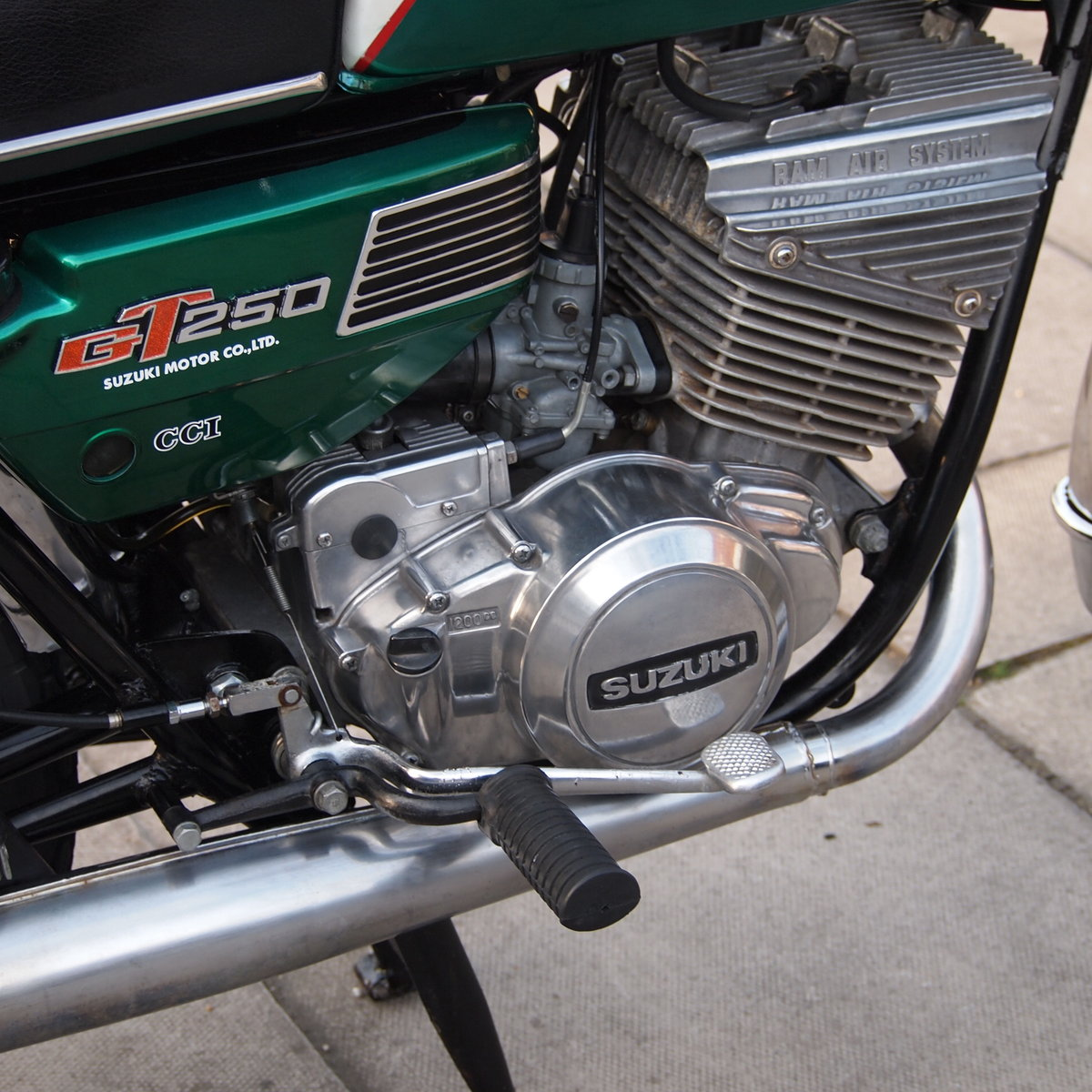 1973 GT250K Ram Air Classic. RESERVED FOR ANDY. SOLD (picture 4 of 6)