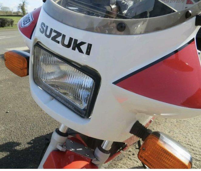 1989 Classic Suzuki RG125 For Sale (picture 3 of 6)