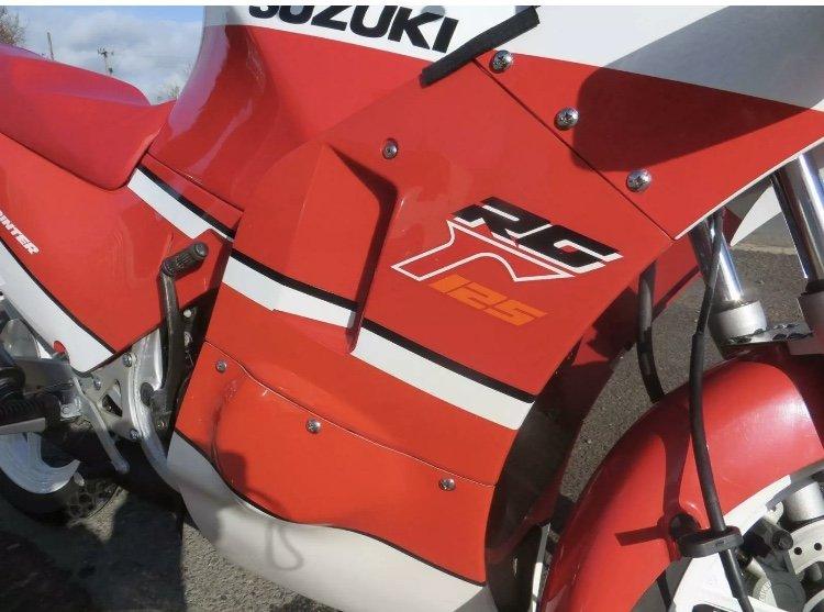 1989 Classic Suzuki RG125 For Sale (picture 4 of 6)