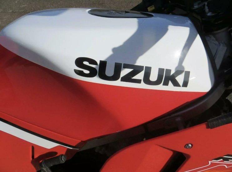1989 Classic Suzuki RG125 For Sale (picture 5 of 6)