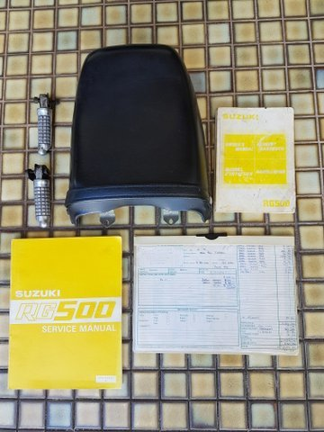 1985 SUZUKI RG500 GAMMA For Sale (picture 6 of 6)