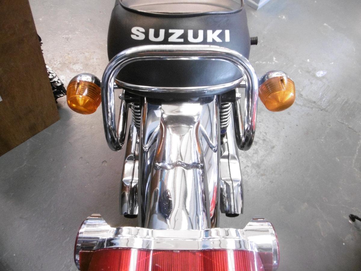 1972 SUZUKI T500 Stunning original Timewarp only 15k miles For Sale (picture 3 of 6)