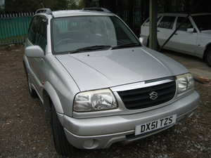 2001 Suzuki Grand Vitara 3 door SE SOLD