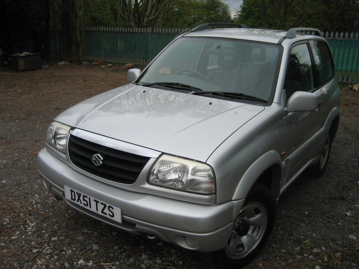 2001 Suzuki Grand Vitara 3 door SE SOLD (picture 2 of 6)