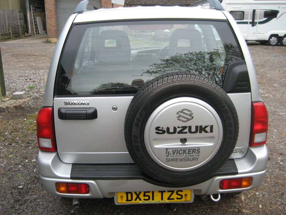 2001 Suzuki Grand Vitara 3 door SE SOLD (picture 6 of 6)